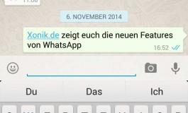 Blauer Haken in WhatsApp und seine Bedeutung