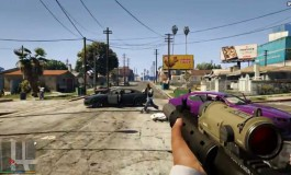 GTA V mit Ego Shooter Perspektive - Bildquelle: YouTube Video