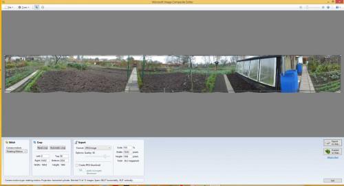 Mit dem Microsoft Image Composite Editor werden Panoramas in wenigen Sekunden erstellt