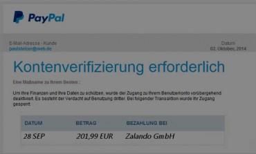 5 Indizien, wie du Phishing Mails erkennst am Beispiel PayPal