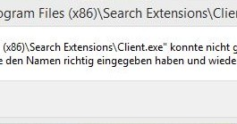 Rocket Tab Fehler - Search Extensions beheben