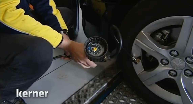 Sprit sparen durch den richtigen Luftdruck im Reifen - Bildquelle: YouTube Video