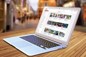 Seit dem 15.2.2015 gibt es YouTube mittlerweile - Ein Blick auf die 10-jährige Geschichte der Videoplattform - Im Bild: youtube.com