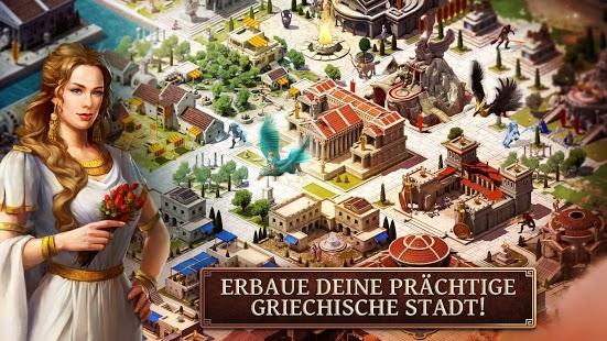 In Age of Sparta baust du eine prächtige Stadt, führst Kämpfe und nutzt die Kräfte der Götter - Bildquelle: Gameloft