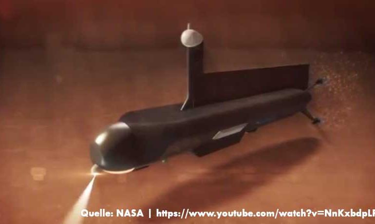 NASA: U-Boot zur Erforschung des Saturnmond Titan geplant