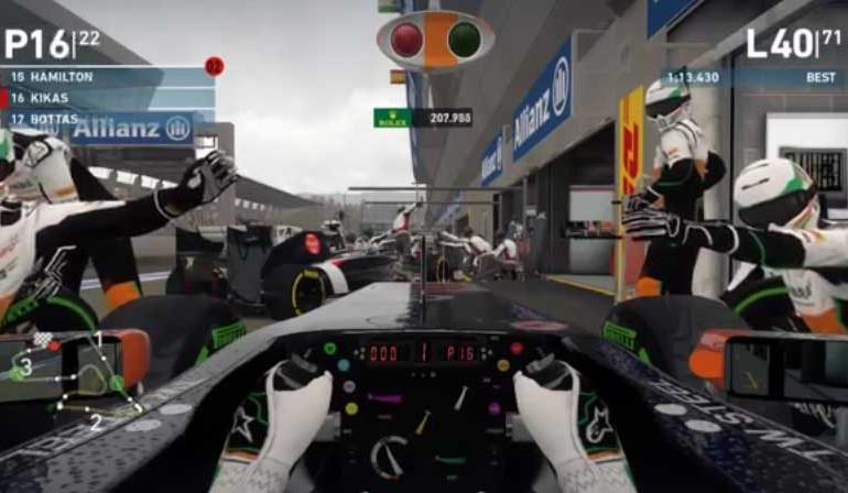 Video zu F1 2014 zeigt die besten Fehler und Glitches im Spiel
