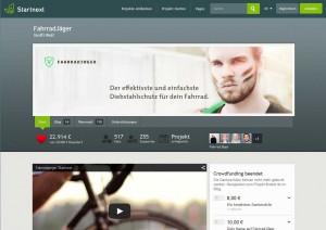 FahrradJäger  Crowdfunding Kampagne auf startnext.com