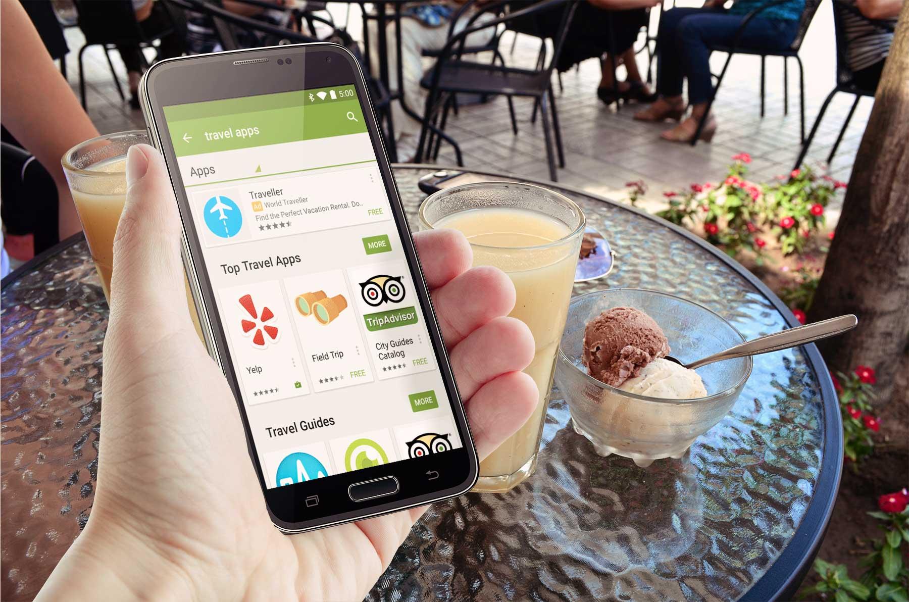 In Kürze wird es im Google Play Store auch Werbung für Android Apps geben - Bildquelle: Eigene Darstellung / Google