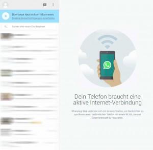 Der WhatsApp Webclient funktioniert nun auch im Firefox und Opera