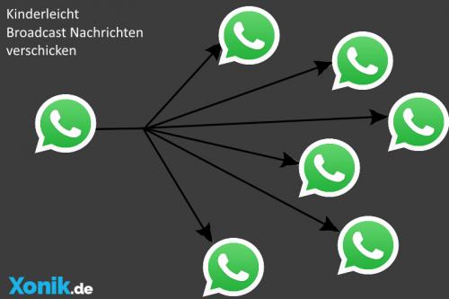 Whatsapp Messenager Broadcast Bildquelle: Whatsapp Inc