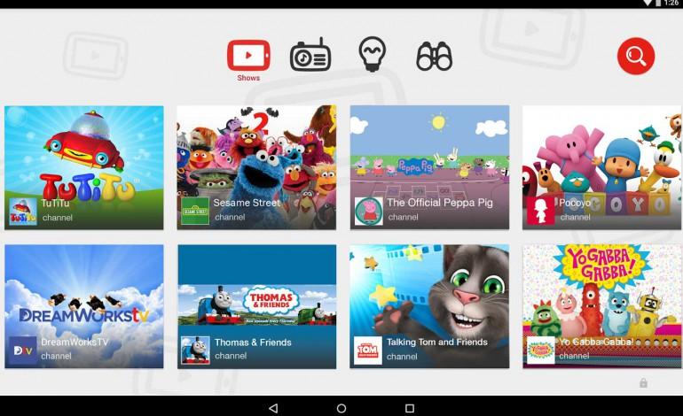 YouTube Kids App für Android in den USA freigeschaltet