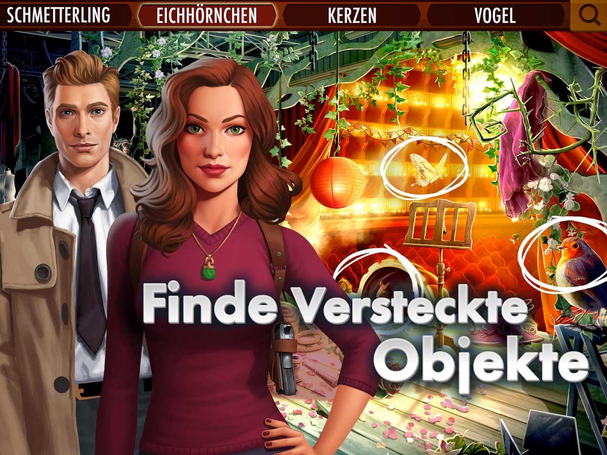 Agent Alice Screenshot zum Hidden Object Spiel für Android und iOS - Bildquelle: Wooga