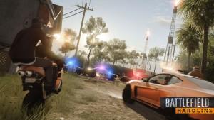 Mit Battlefield Hardline geht es nun in die Moderne - Bildquelle: Electronic Arts