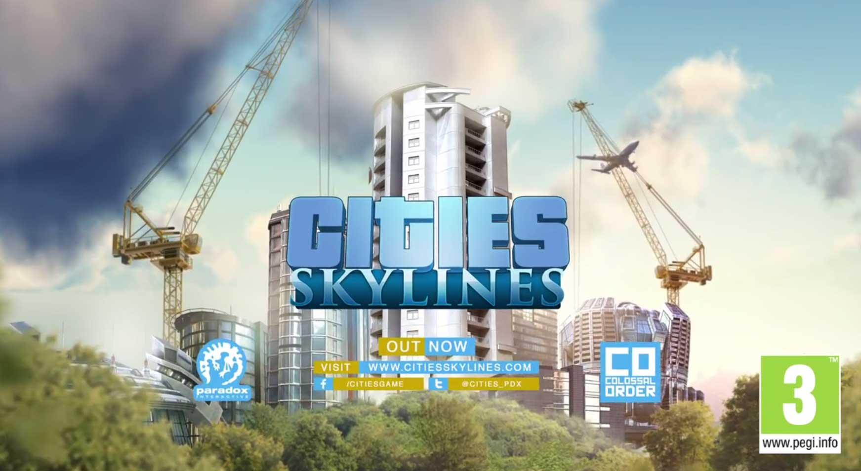 Cities Skylines von Paradox Interactive