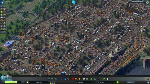 Cities Skylines in isometrischer Ansicht mit dem Mod Isometric Camera