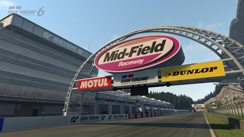 Screenshot Mid-Field Raceway Bildquelle: http://www.gran-turismo.com