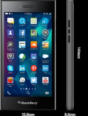 So schaut das neue Blackberry Leap aus - Bildquelle: Blackberry