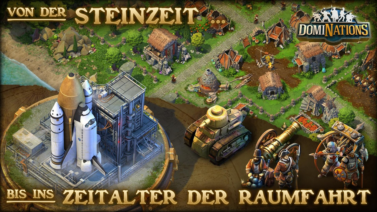 Screenshot zu DomiNations - (c) Nexon M