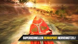 Driver Speedboat Paradise wurde für Android, iPhone und iPad veröffentlicht - Bildquelle: Ubisoft