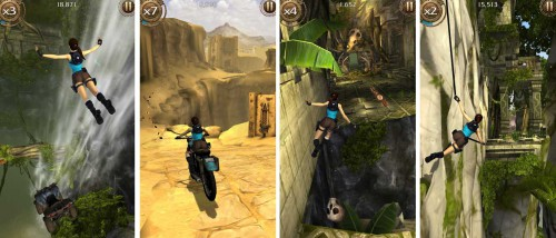 Lara Croft Relic Run: Der Endless Runner für iPhone, iPad und Android - Bildquelle: Square Enix