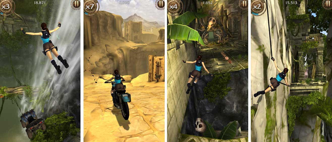 Lara Croft Relic Run: Der Endless Runner für iPhone, iPad und Android - Bildquelle: Square Enix