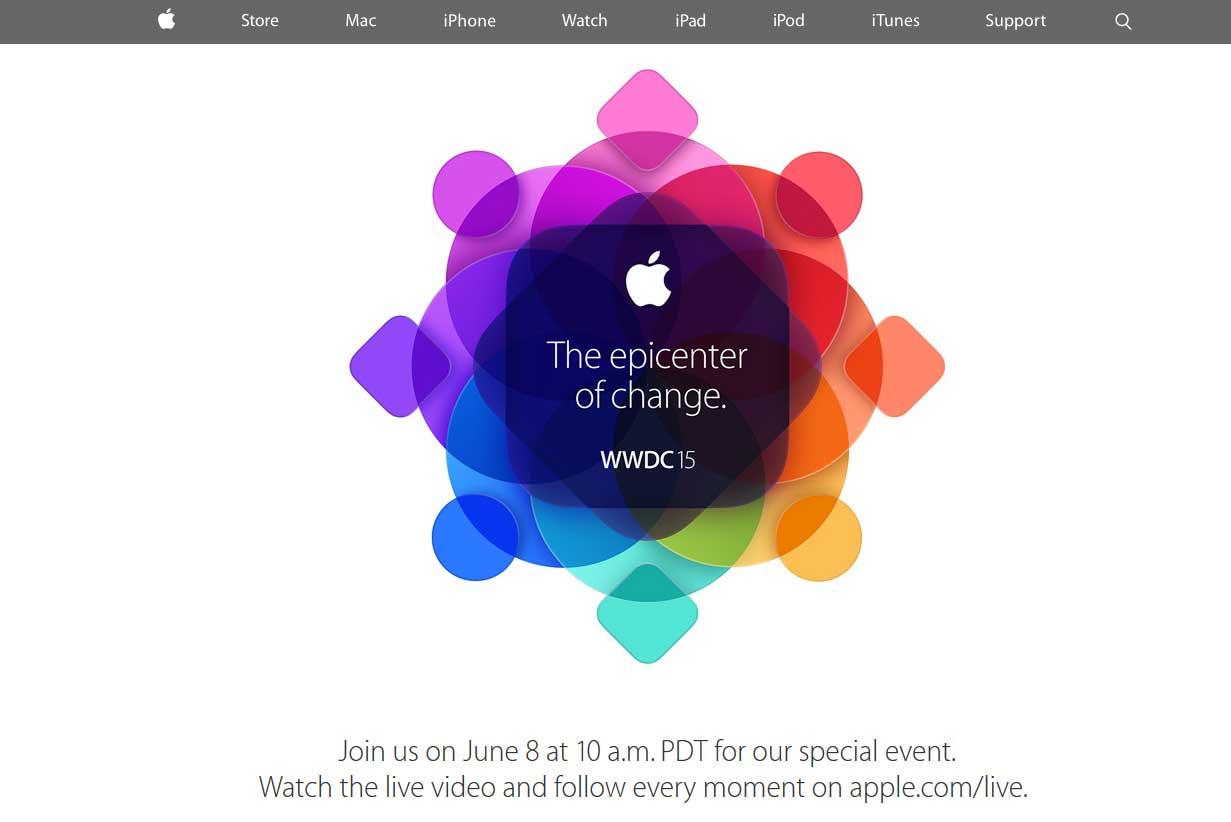 WWDC 2015: Apple Keynote im Live Stream anschauen - Quelle: apple.com