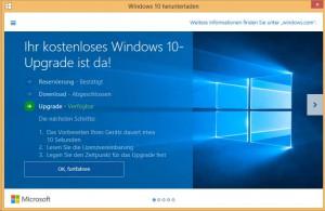 Auf Windows 10 upgraden so gehts - und das sind die Erfahrungen