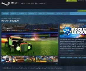 Rocket League im Steam Sale 30 Prozent günstiger
